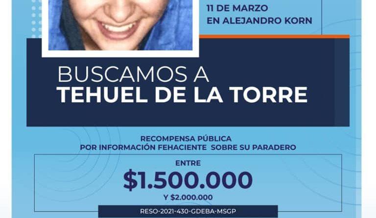 San Vicente: BUSCAMOS A TEHUEL DE LA TORRE